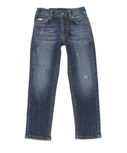 RICHMOND JUNIOR | Destroyed Cotton Jeans