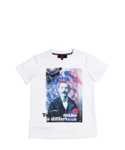 RICHMOND JUNIOR | Printed Cotton Jersey T-Shirt