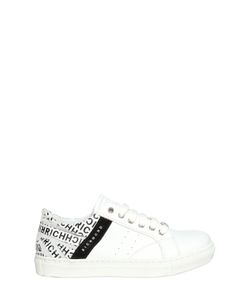 RICHMOND JUNIOR | Leather Sneakers With Printed Detail