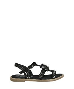 RICHMOND JUNIOR | Embellished Suede Sandals