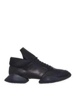RICK OWENS BY ADIDAS | Split Sole Leather Runner Sneakers