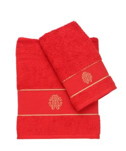 Roberto Cavalli | Set Of 2 Cotton Towels