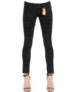 Robin'S Jean | Skinny Studded Destroyed Denim Jeans