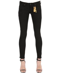 Robin'S Jean | Skinny Gold Stripes Denim Jeans