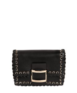Roger Vivier | Micro Viv Leather Shoulder Bag