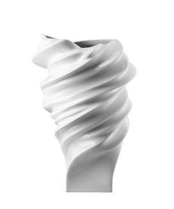 ROSENTHAL | Swirled Porcelain Vase