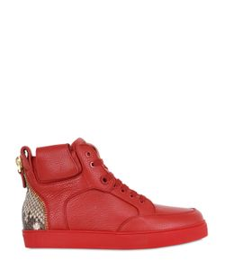 ROYAUMS | Tressor Leather High Top Sneakers