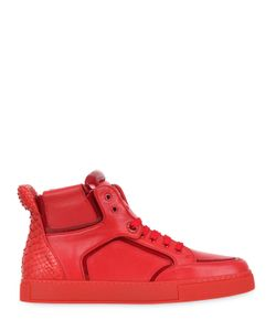 ROYAUMS | 2andmade Leather High Top Sneakers