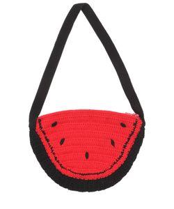 Rykiel Enfant | Watermelon Shaped Tricot Shoulder Bag