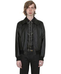 Saint Laurent | Nappa Leather Shirt Jacket