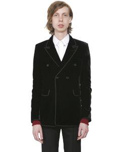 Saint Laurent | Double Breasted Velvet Jacket