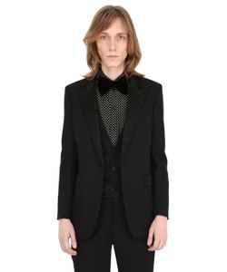 Saint Laurent | Wool Crepe Tuxedo Jacket