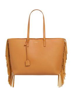 Saint Laurent | Fringed Leather Tote Bag