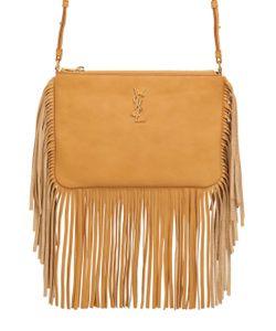 Saint Laurent | Monogram Leather Shoulder Bag