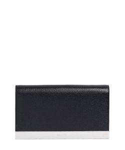 Saint Laurent | Lutetia Leather Clutch With Metal Trim