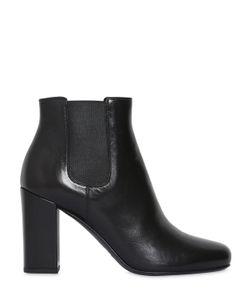 Saint Laurent | 90mm Babies Leather Ankle Boots
