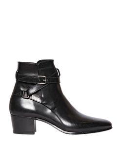 Saint Laurent | 40mm Blake Leather Ankle Boots