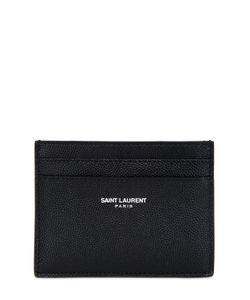 Saint Laurent | Grained Leather Card Holder