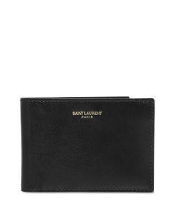 Saint Laurent | Brushed Calf Leather Classic Wallet