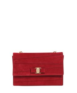 Salvatore Ferragamo | Ginny Suede Shoulder Bag