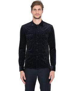 SALVATORE PICCOLO | Stretch Corduroy Cotton Modal Shirt