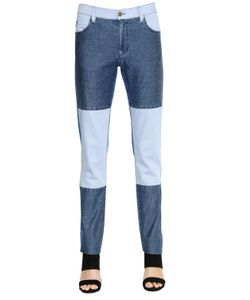 SANSOVINO 6 | Patchwork Cotton Denim Jeans