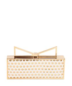 Sara Battaglia | Lady Me Perforated Leather Clutch