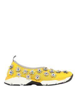 Sarah Summer | 20mm Hydro Flowers On Mesh Sneakers
