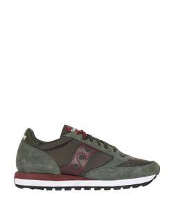 Saucony   Jazz Suede Nylon Sneakers