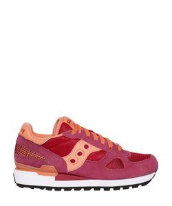 Saucony   Shadow Suede Mesh Sneakers