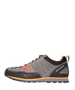 SCARPA | Crux Suede Leather Sneakers