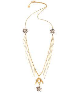Schield | Star Line Necklace W/Love Birds