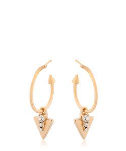 Schield | Tribal Arrowhead Pendant Earrings