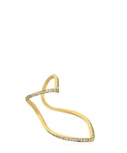 Seeme | Diamonds Wrap Heart Ring
