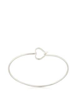 Seeme | Heart Movement Rhodium Plated Bracelet