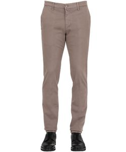 SEI3SEI | 17cm Gabardine Slim Fit Chino Pants