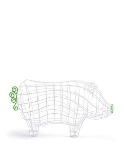 SELETTI | Fantastico Domestico Pig Basket