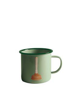 SELETTI WEARS TOILET PAPER | Plunger Printed Metal Mug