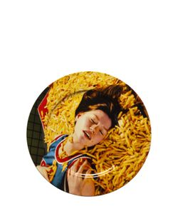 SELETTI WEARS TOILET PAPER | French Fries Printed Porcelain Dish