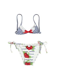 SELINI ACTION | Sequins Embellished Lycra Bikini