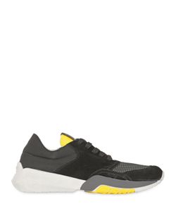 Serafini | Nylon Cordura Suede Sneakers