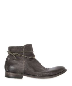 Shoto | Washed Leather Ankle Boots