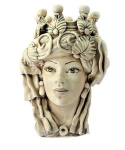 SICILY & MORE | Elegant Female Ceramic Moors Head