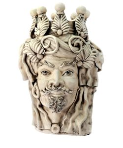 SICILY & MORE | Elegant Male Ceramic Moors Head