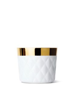 SIEGER BY FURSTENBERG | Sip Of Gold Porcelain Glass