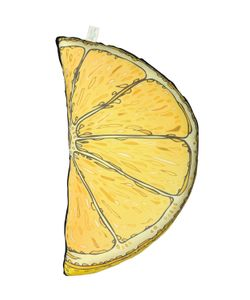 SILKEN FAVOURS | Lemon Slice Pillow