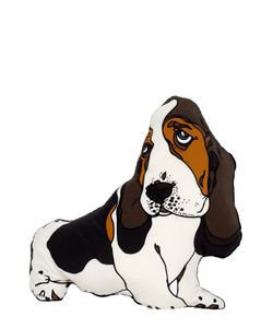 SILKEN FAVOURS | Stanley The Basset Hound Pillow