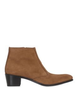 SIMON FOURNIER | 50mm Suede Ankle Boots