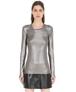 SIRAN | Metallic Jersey Top
