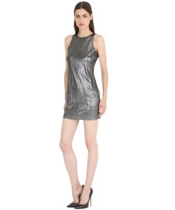 SIRAN | Metallic Ribbed Dress